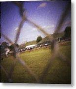 Through The Fence Neo Metal Print