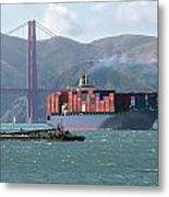 Through The Golden Gate Metal Print