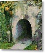 Through The Tunnel Metal Print