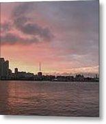 Ths City Sunset Metal Print