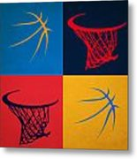 Thunder Ball And Hoop Metal Print
