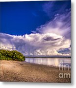 Thunder Head Coming Metal Print