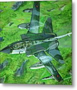 Thunder In The Valleys Metal Print