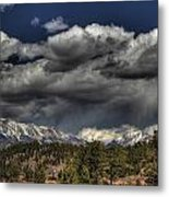 Thunder Mountains Metal Print