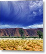 Thunder Rock Metal Print