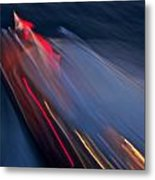 Thunderbird At Night Metal Print by Steven Lapkin