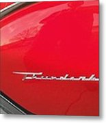 Thunderbird Roads Metal Print