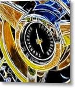 Thunderbird Spokes Fractal Metal Print