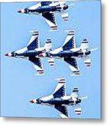 Thunderbirds   Metal Print