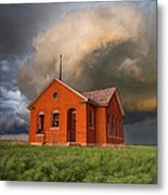 Thunderous Plains Metal Print