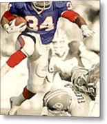 Thurman Thomas Metal Print