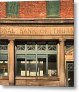 Thurmond Bank Of West Virginia Metal Print