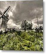 Thurne Wind Pump Metal Print