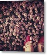 Thyme Carpet Metal Print