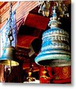 Tibetan Bells Metal Print