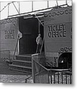 Ticket Office Metal Print