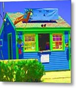 Ticket Shack Metal Print