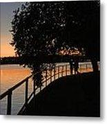 Tidal Basin Sunset0259 Metal Print