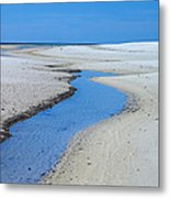 Tidal Pools Metal Print by Susan Leggett