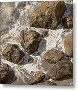 Tide Pools Of Shell Beach California Metal Print