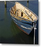 Tied Down From The Storm  Metal Print by Eugene Bergeron