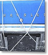 Tied Down Trunk Metal Print