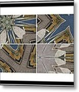 Tied To My Concrete Garden - Kaleidoscope - Segmented Art Metal Print