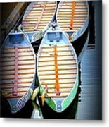Tied Up For Now Metal Print