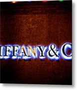 Tiffany And Co Metal Print
