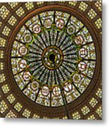 Tiffany Dome Chicago Cultural Museum Metal Print