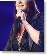 Singer Tiffany Metal Print