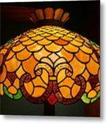 Tiffany Lamp Metal Print