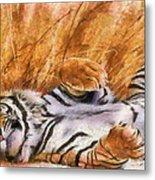 Tiger - Big Cat Metal Print