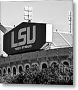Tiger Stadium Metal Print by Scott Pellegrin