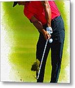 Tiger Woods - The Honda Classic Metal Print