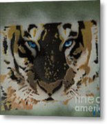 Tigerrr Metal Print