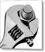Tighten It Metal Print