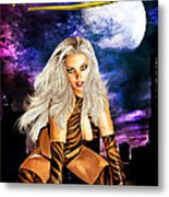 Tigress Metal Print