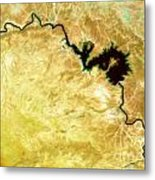 Tigris River Iraq Metal Print