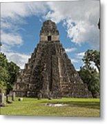 Tikal Pyramid 1j Metal Print