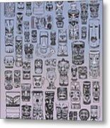 Tiki Cool Zone Metal Print