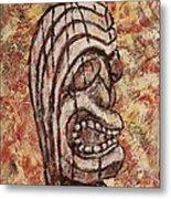 Tiki God Metal Print