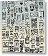 Tiki Time Zone Metal Print