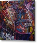 Tikor Woman Metal Print