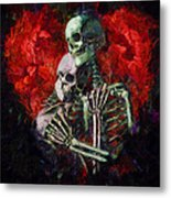 Til Death Metal Print by Christopher Lane