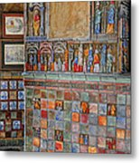 Tilework At The Castle Metal Print