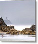 Tillamook Head Lighthouse Metal Print