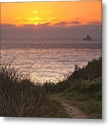 Tillamook Rock Lighthouse Metal Print