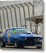Tilley Racing Mustang Metal Print