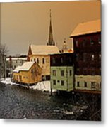 Tilton On The Winnipesaukee Metal Print